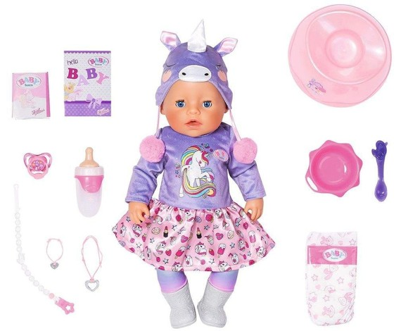 Baby Born - Soft Touch Bath doll  (828847)