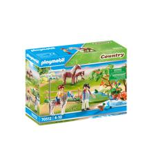 Playmobil - På eventur i naturen med pony (70512)