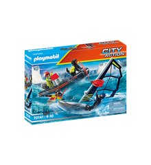 Playmobil - Sea Rescue: Polar Sailor Rescue with Dinghy (70141)