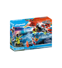 Playmobil - Sea Rescue: Diver rescue with rescue drone (70143)