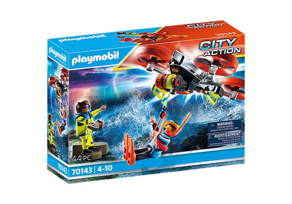 Playmobil - Sea Rescue: Diver rescue with rescue drone (70143)