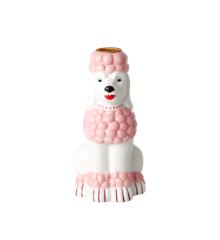Rice - Puddel Keramik Lysestage - Pink