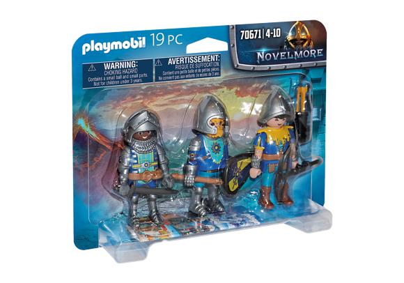 Playmobil - Novelmore - Set of 3 Novelmore knights (70671)