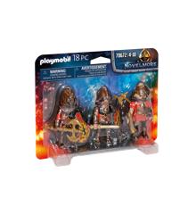 Playmobil - Novelmore - 3 Burnham ridere (70672)