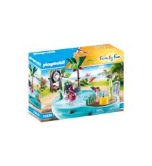 Playmobil - Fun pool with water sprayer (70610)