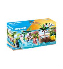 Playmobil - Børnebad med boblebad (70611)