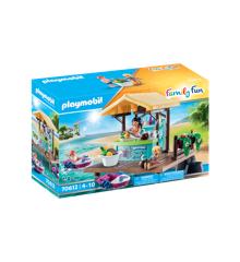 Playmobil - Canoe rental with juice bar (70612)
