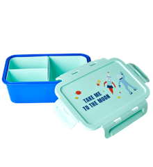 Rice - Lunchbox w. 3 Inserts - Space Print