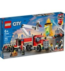 LEGO City - Brandvæsnets kommandoenhed (60282)