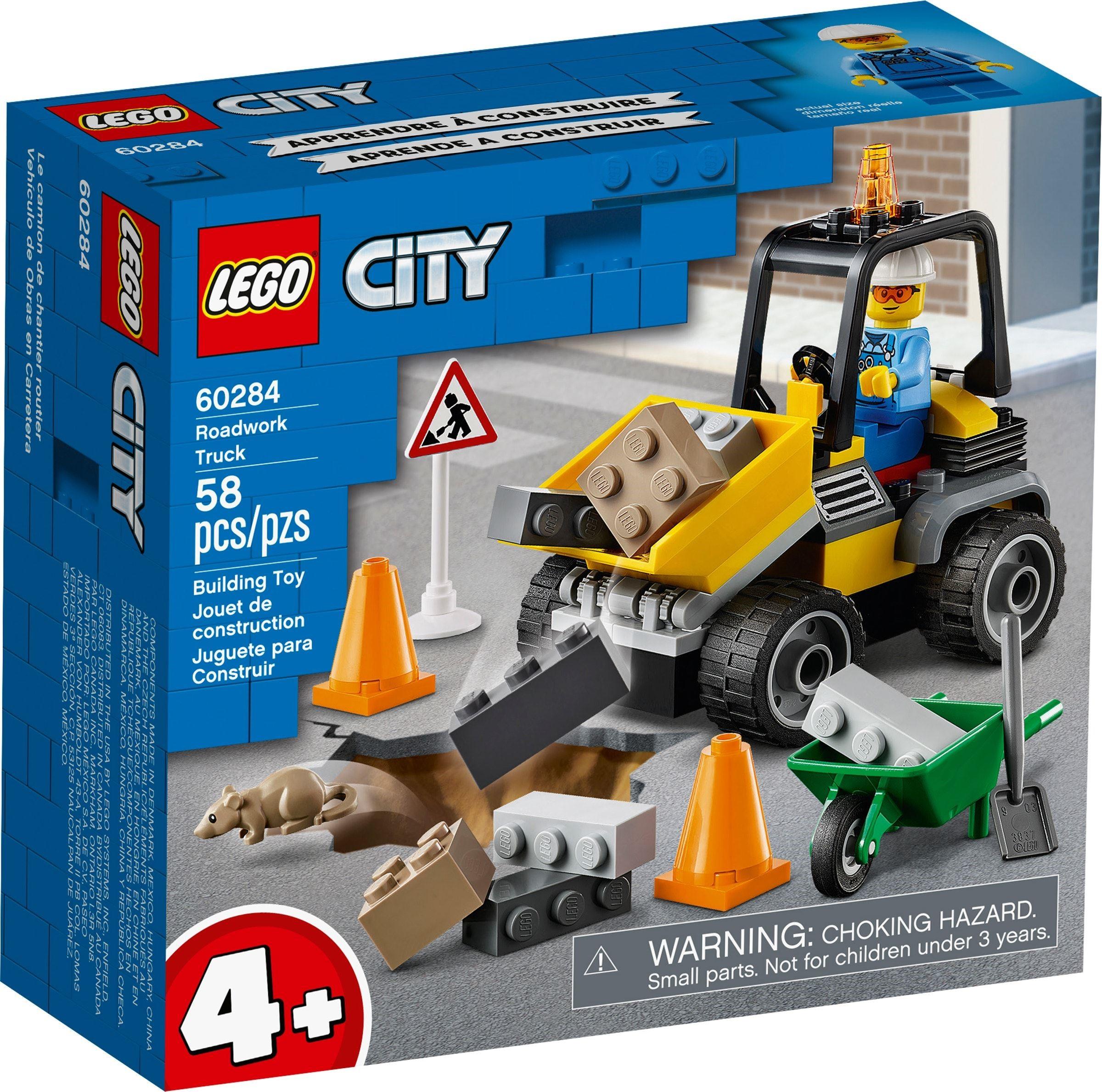 LEGO City - Vejarbejdsvogn (60284)