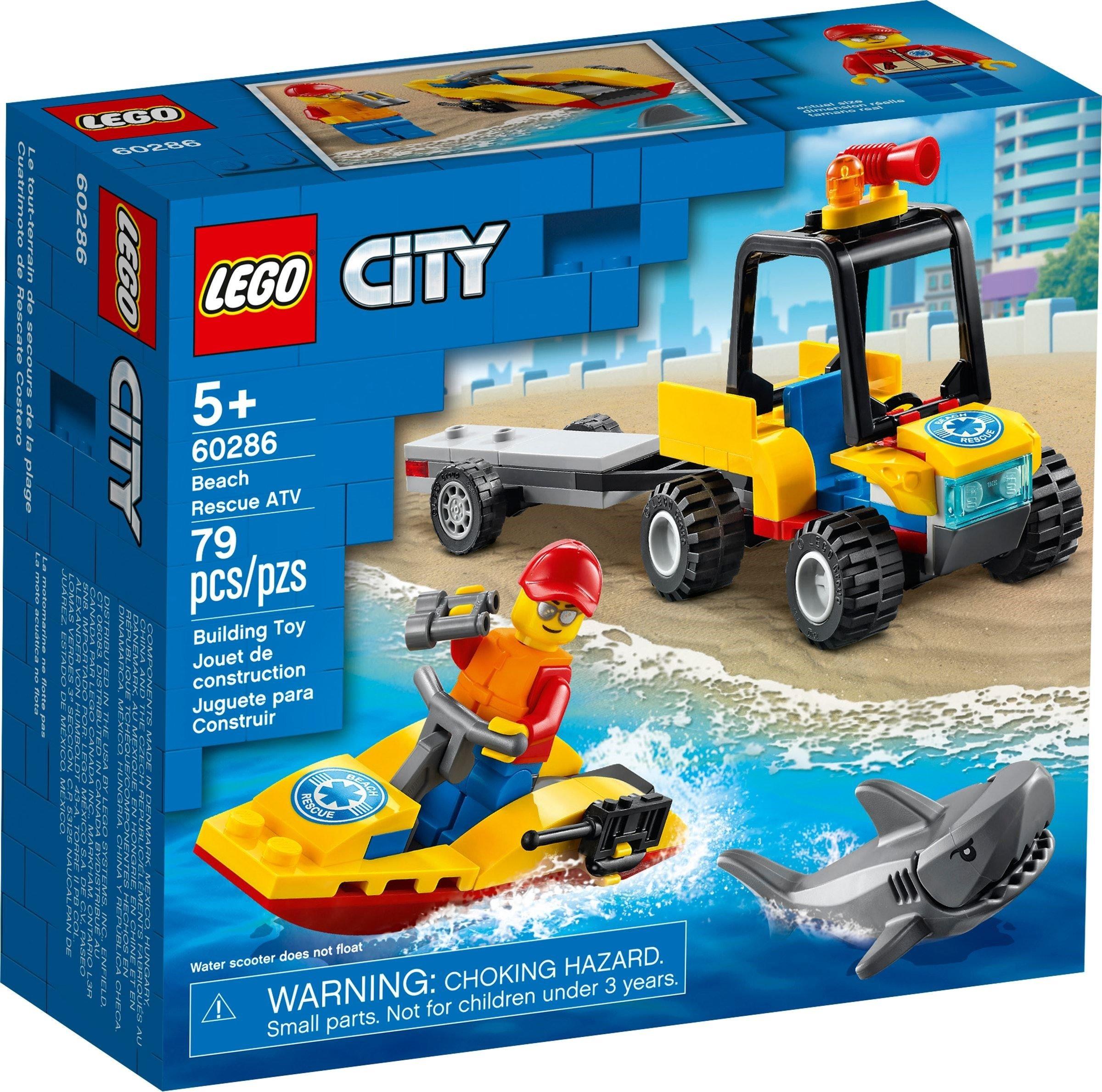LEGO City - Strandrednings-ATV (60286)