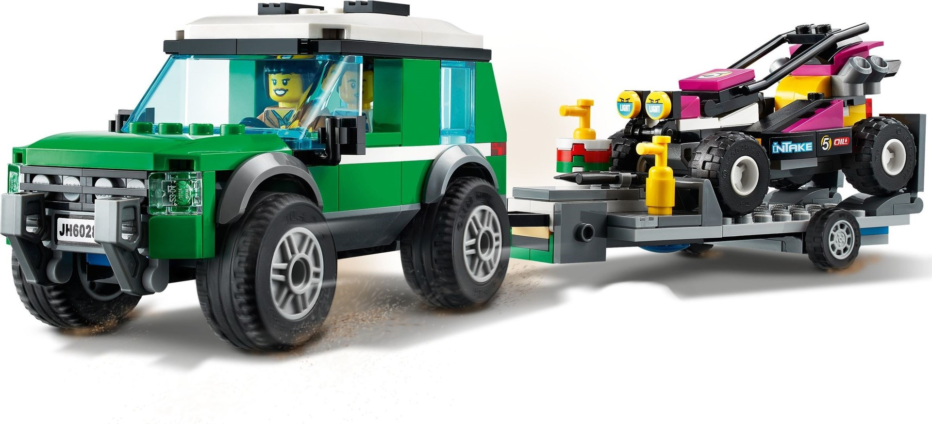 Kjøp LEGO City - Race Buggy Transporter (60288) - Inkl ...