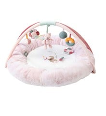 Nattou - Round Baby Activity Play Mat - Iris & Lali