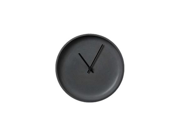 LIKEconcrete - Ida Wall Clock Ø 22 cm - Antracit Grey (93782)