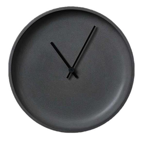 LIKEconcrete - Ida Wall Clock Ø 35 cm - Antracit Grey (93787)