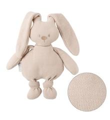 Nattou - Knitted Cuddly Rabbit - Beige