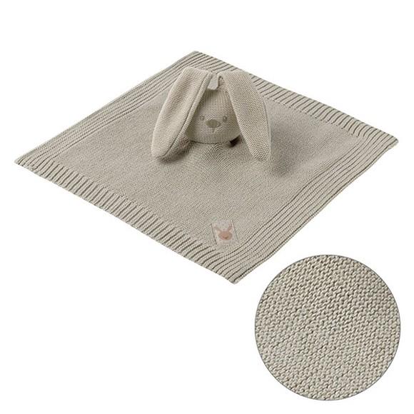 Nattou - Cuddling Cloth Knitted - Beige