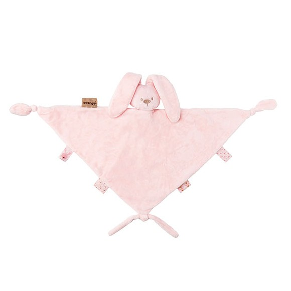 Nattou - Big Cuddling Cloth - Light Rose