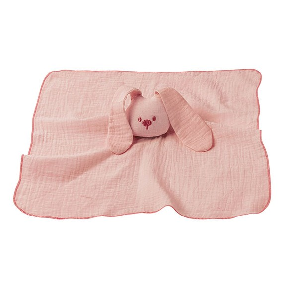 Nattou - Cuddling Cloth Muslin - Old Rose