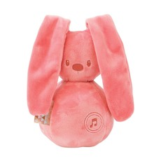 Nattou - Lapidou Music Rabbit - Coral Rose