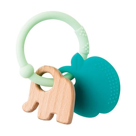 Nattou - Lapidou Teething Toys - Apple