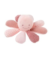 Nattou - Lapidou Aktivitets Dyr - Blæksprutte Rosa