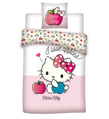 Bed Linen - Junior Size 100 x 140 cm - Hello Kitty (1000407)