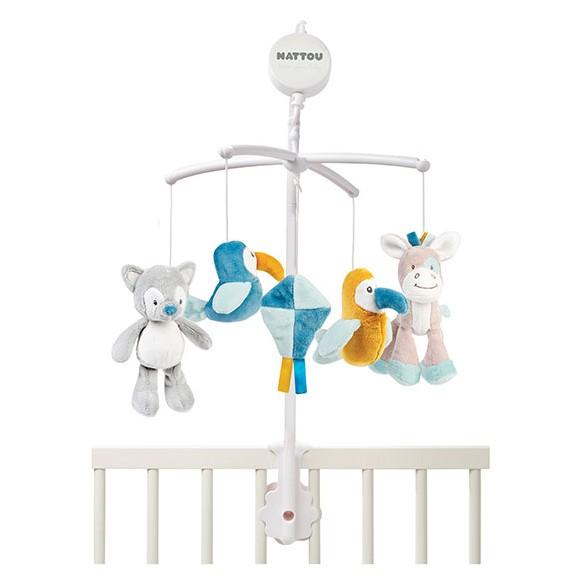 Nattou - Hanging Mobile - Tim & Tiloo