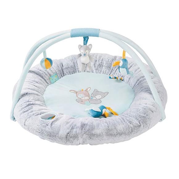 Nattou - Round Baby Activity Play Mat - Tim & Tiloo