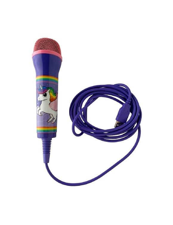 Unicorn Rainbow Microphone - 3M Cable