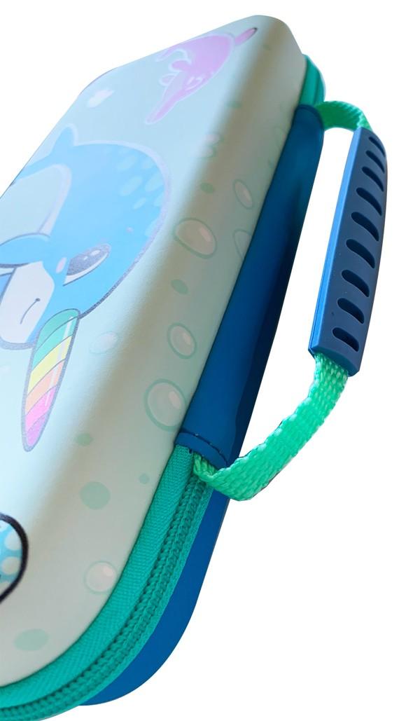 Narwhal Case Aqua / Blue Switch Lite Case
