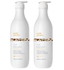 milk_shake - Curl Passion Shampoo 1000 ml + Curl Passion Conditioner 1000 ml
