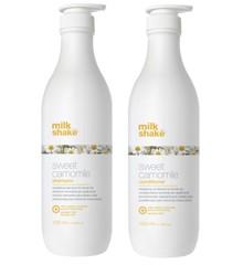 milk_shake - Sweet Camomile Shampoo 1000 ml + Sweet Camomile Conditioner 1000 ml