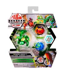 Bakugan - Starter Pack S2 - Pegatrix, Trox X , Dragonoid x Tretorous