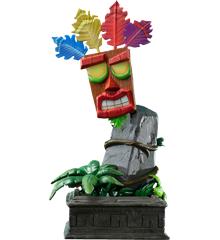 First4Figures - Crash Bandicoot (Mini Aku Aku Mask) RESIN Statue