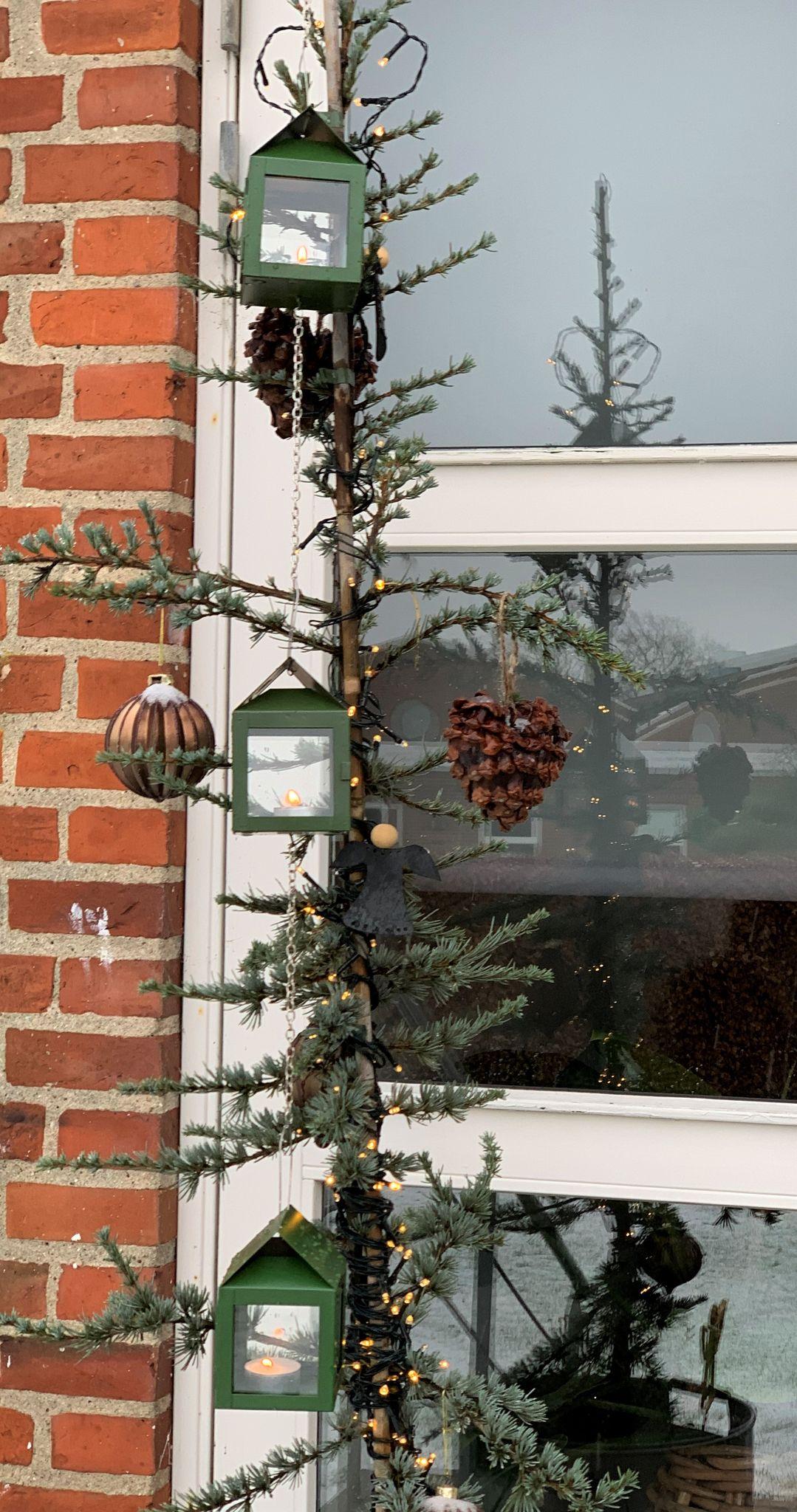 Bilde av A2 Living - 3 X Hanging Lantern With Wire - Green (40085)