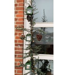 A2 Living - 3 x Hanging Lantern With Wire - Green (40085)