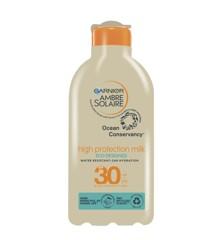 Garnier - Ambre Solaire Ocean Protect Milk Solcreme  SPF30 200 ml