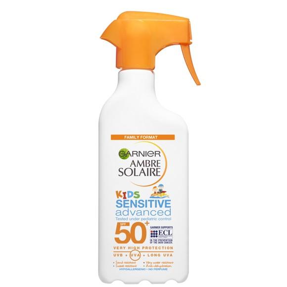 Garnier - Ambre Solaire Sensitive Kids Swim Spray SPF50 300 ml