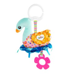 Lamaze - Sierra the Swan – On-the-Go Baby Toy