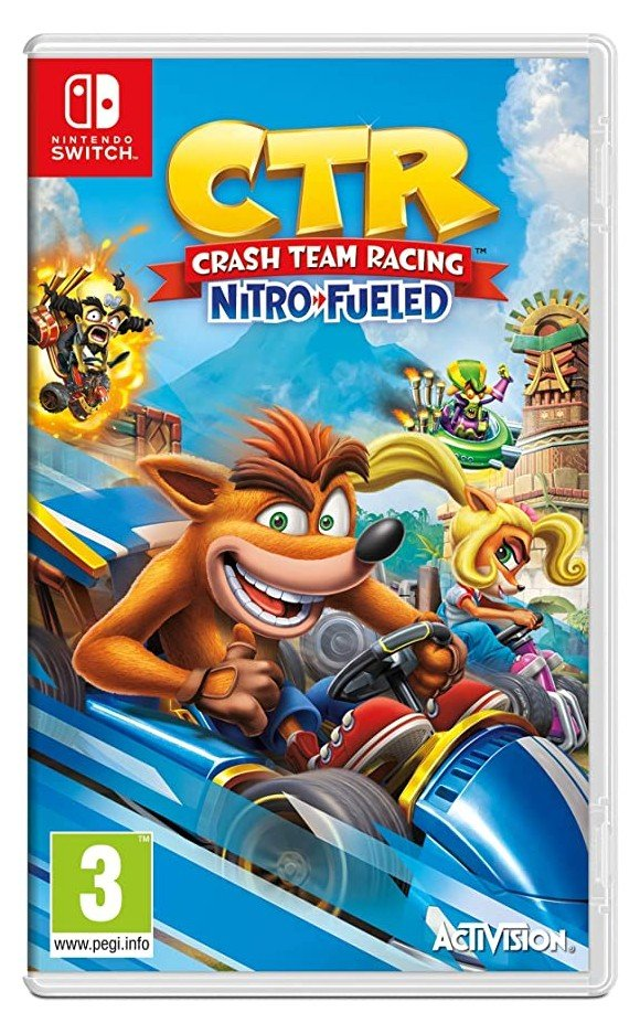 Crash Team Racing Nitro-Fueled (ENG/FR)