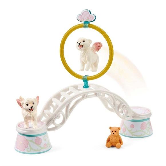 Schleich - Bayala - Winged Baby Lion Training (42524)