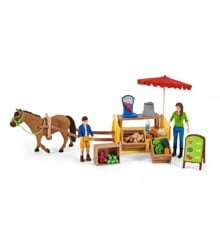 Schleich - Sunny Day Mobile Farm Stand (42528)