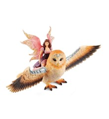 Schleich - Bayala - Fairy in Flight on Glam Owl (70713)