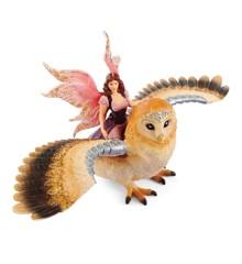 Schleich - Bayala - Fairy in Flight on Glam Owl (70713)