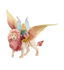 Schleich - Bayala - Fairy in Flight on Winged Lion (70714)