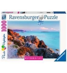 Ravensburger - Puzzle 1000 - Mediterranean Greece (10214980)