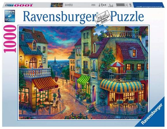 Ravensburger - Puzzle 1000 - An Evening in Paris (10215265)