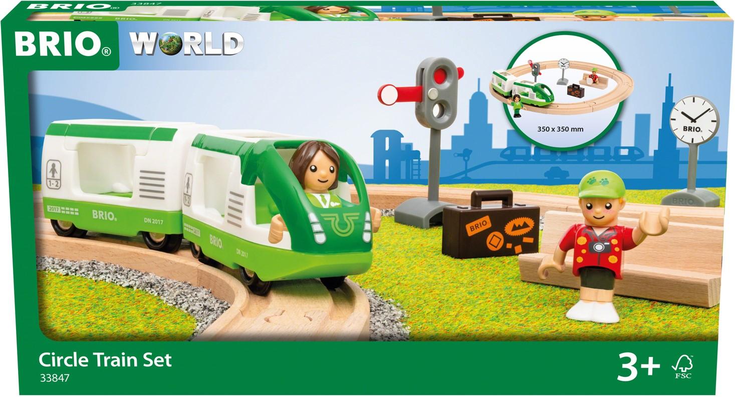 BRIO - Rundt togbanesæt (33847)