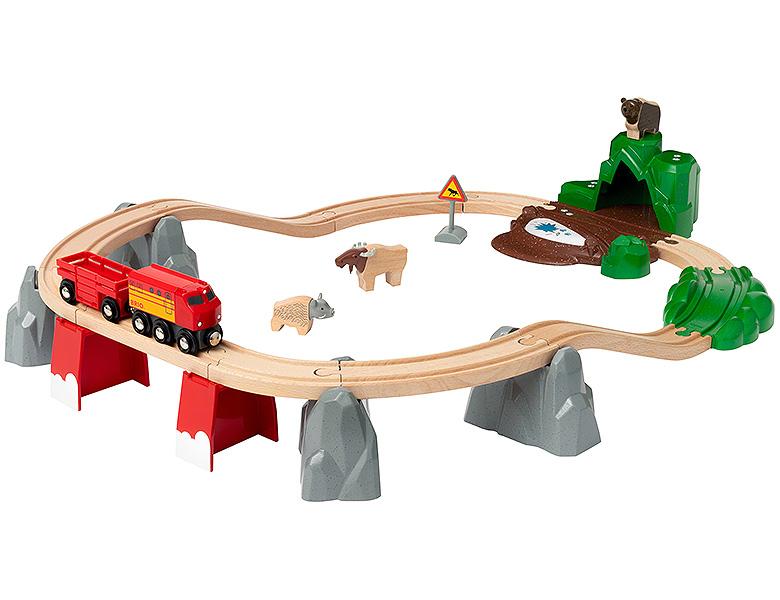 BRIO - Togbane med nordiske dyr (4-33988)